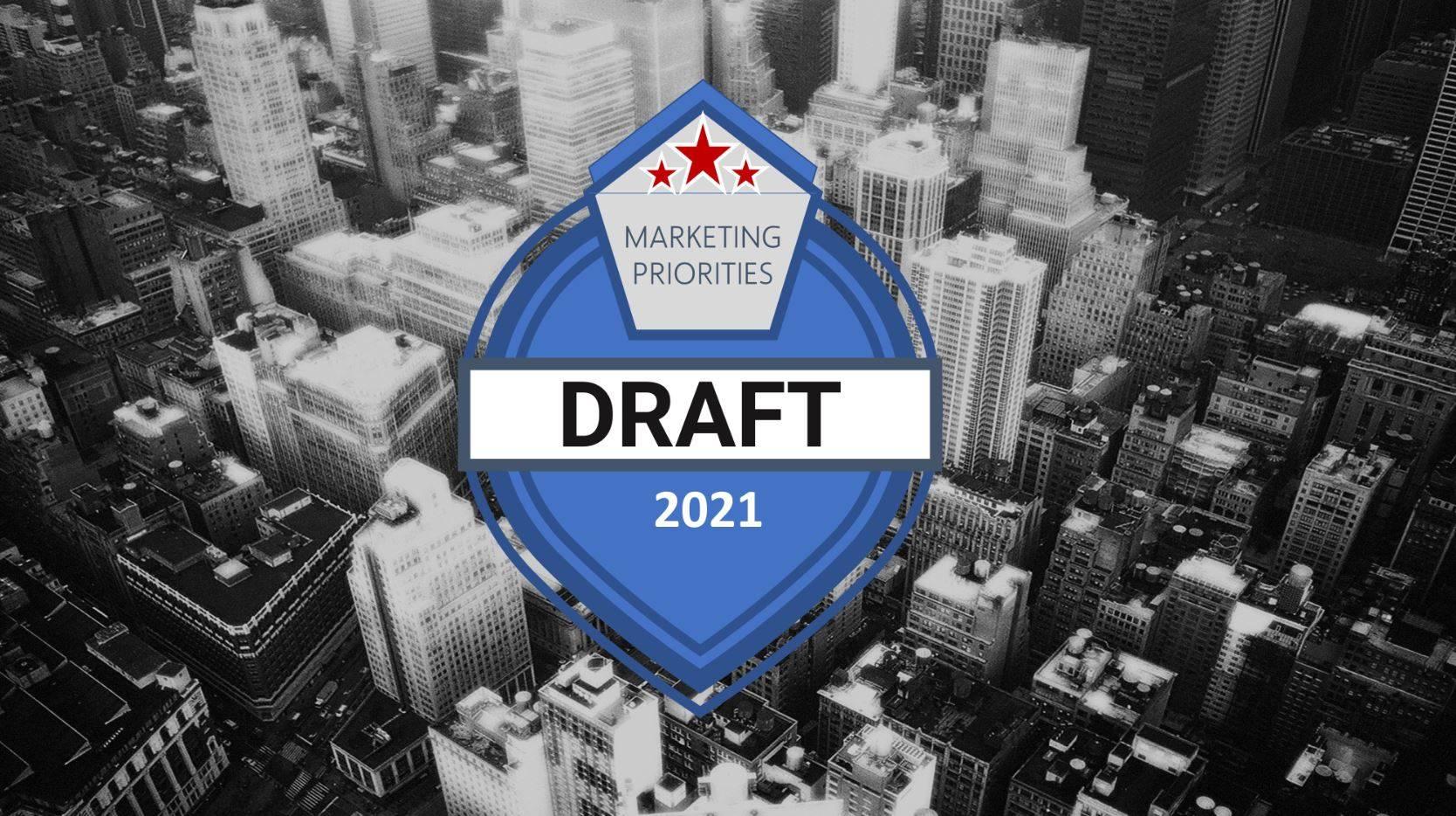 Marketing Priorities Draft